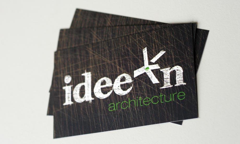 Design Visitenkarte Ideen Architecture