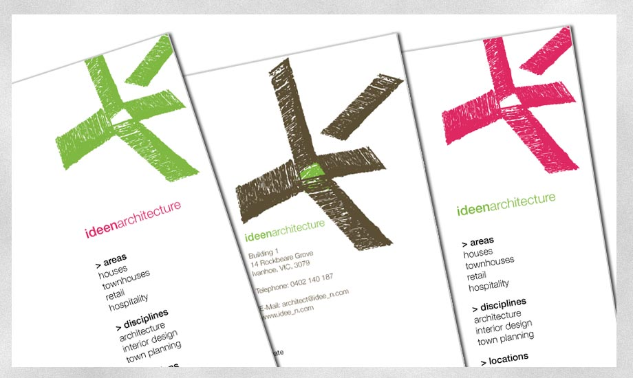 Briefpapier Letter head Ideen Architecture