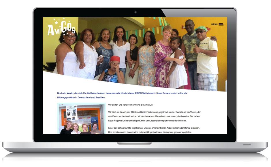 Webdesign Webseite AmiGOs