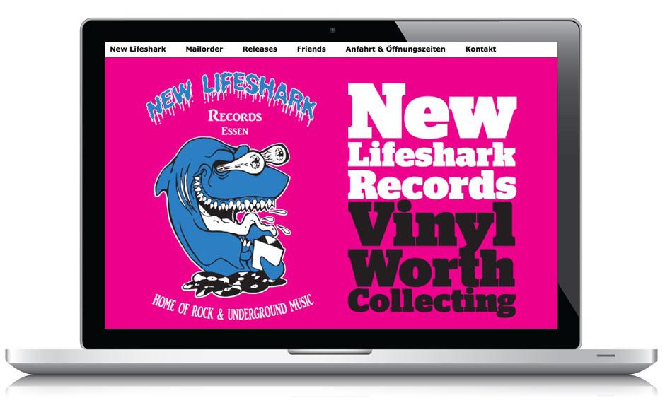 Webseite New Lifeshark