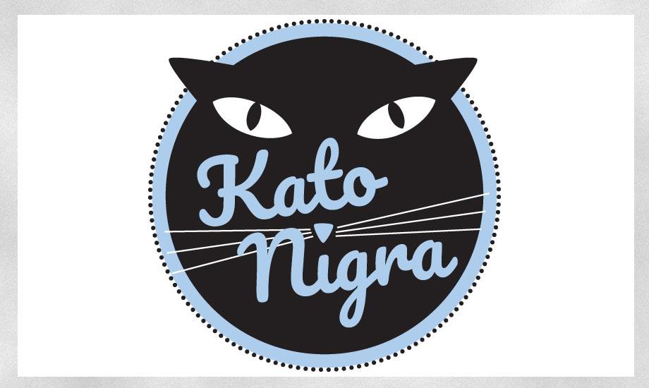Logogestaltung Band Kato Nigra