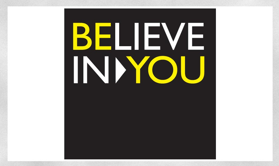 Design Logo Believe in you