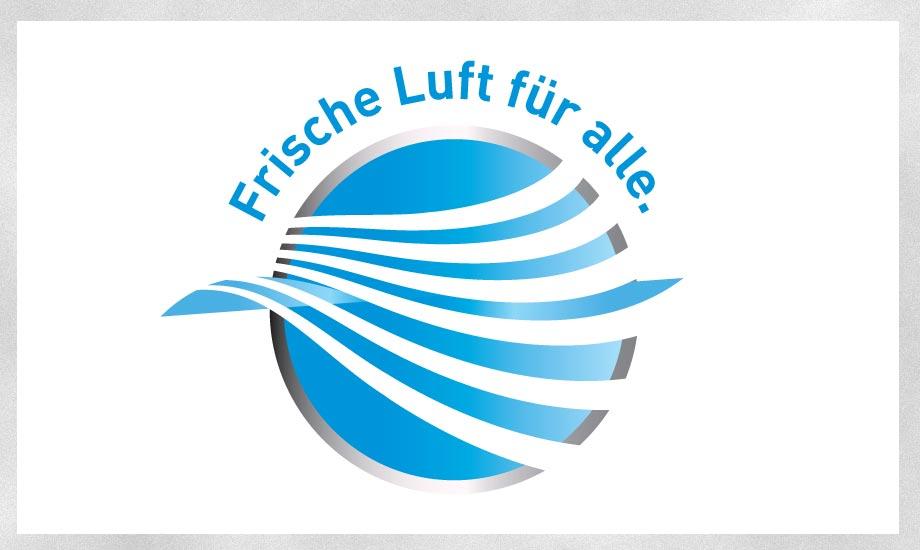 Design Logo Frische Luft für alle