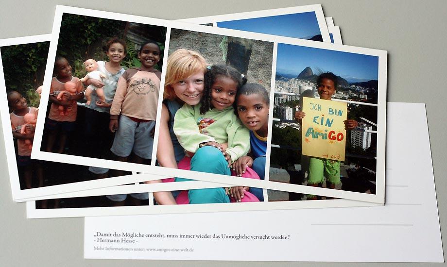 Layout Postkarte AmiGOs