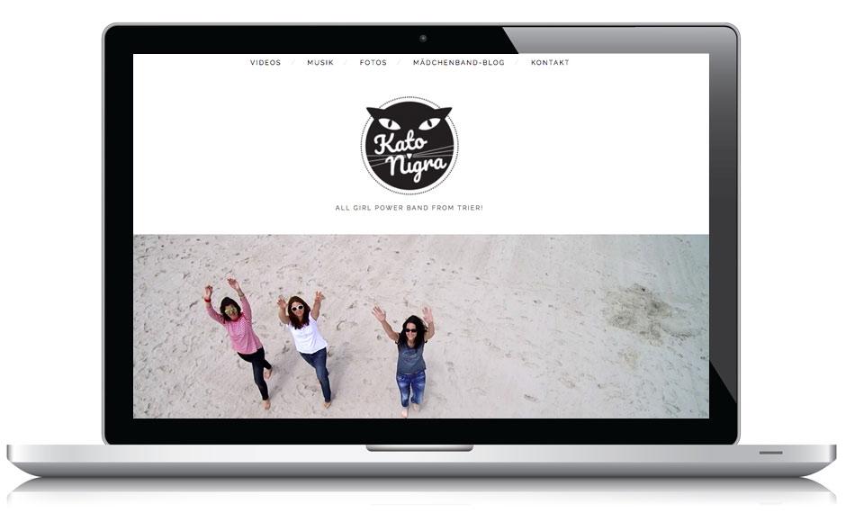 Webseite Kato Nigra