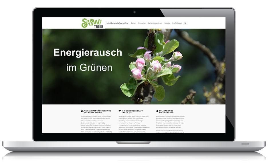 Webseite Solawi Trier