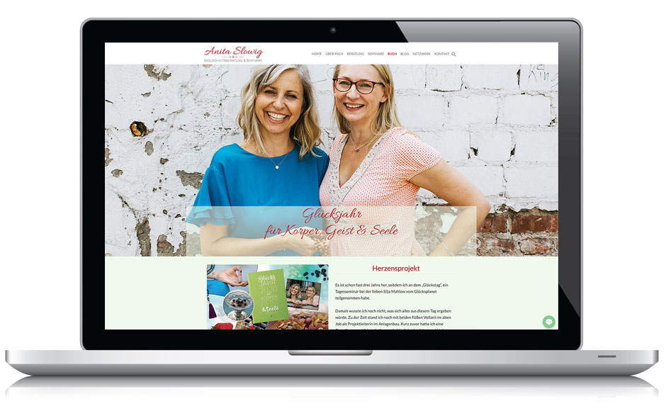 Webseite Ayurveda-Gesundheitsberaterin Anita Slowig